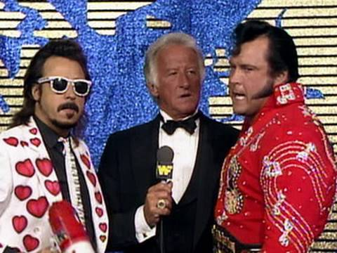WWE Hall of Fame: Bob Uecker interviews The Honky Tonk Man