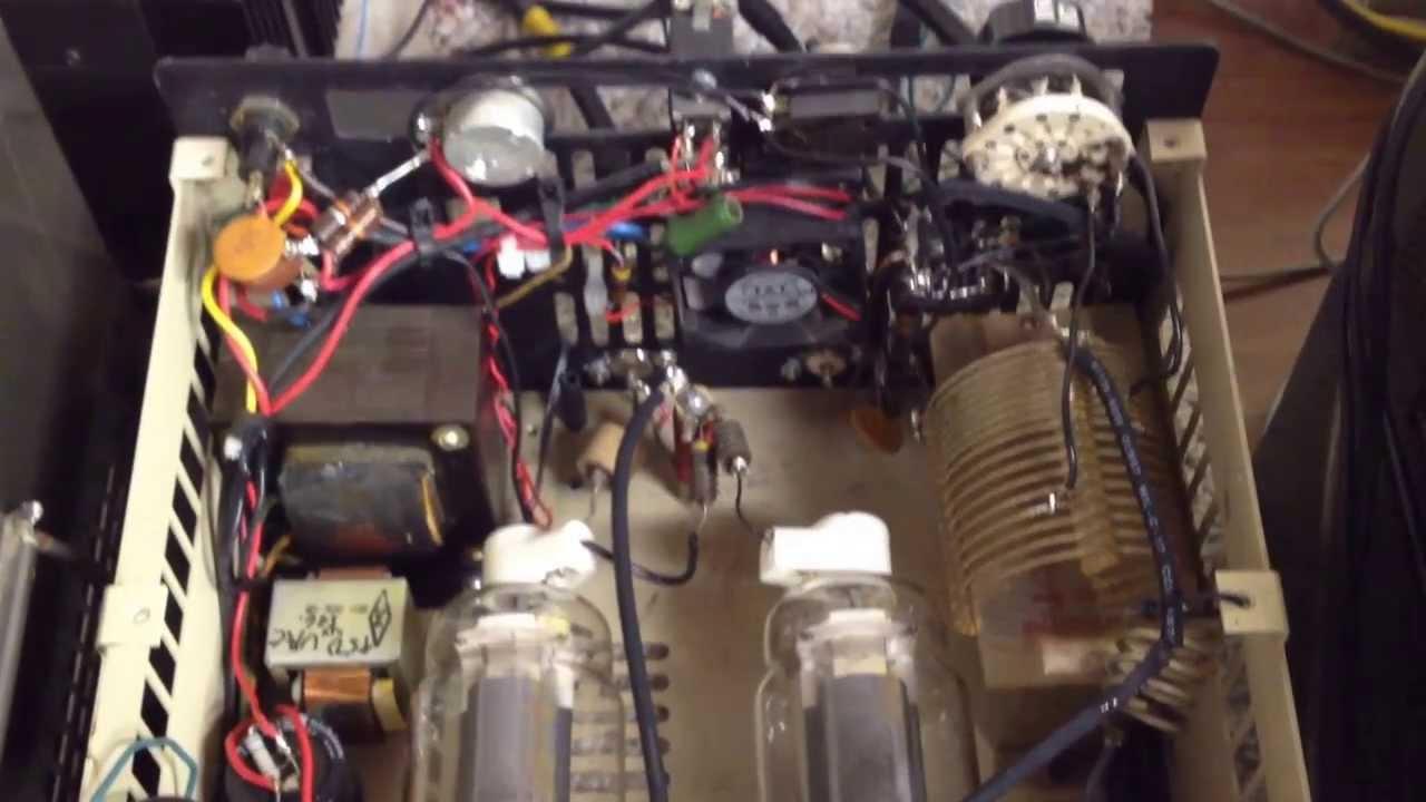 Homebrew 813 Linear Amplifier & Drake 4-Line Boatanchor Overview