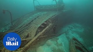 'Cursed' sunken British ship is discovered intact after 90 YEARS!