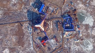 Satellite Images: Russia's Arctic Military Bases
