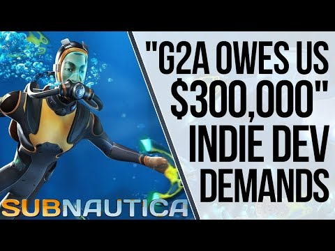 G2A Owes Subnautica Devs $300,000 For Credit Card Fraud | Epic Class Action Lawsuit & LOADS MORE from YouTube · Duration:  14 minutes 54 seconds