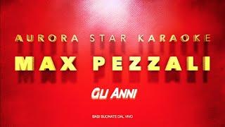 Max Pezzali [883] - Gli Anni (Aurora Star Karaoke)