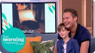 Gary Lucy Makes His Comeback to Hollyoaks as Luke Morgan! | This Morning