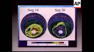 USA - CFC Gases Blamed For Ozone Hole Over S.Pole