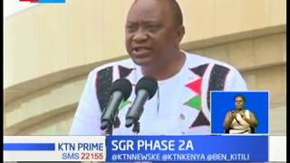 President Uhuru is set to launch a new line of SGR