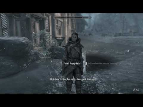Skyrim Special Edition - Finding the missing follower - YouTube