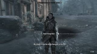 Skyrim Special Edition - Finding the missing follower