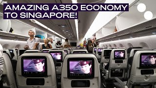 QATAR AIRWAYS A350-900XWB ECONOMY CLASS I DOHA - SINGAPORE