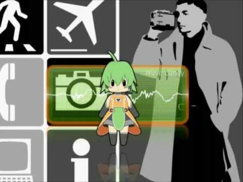 Electronic apeman - Karl Bartos with FL-chan!