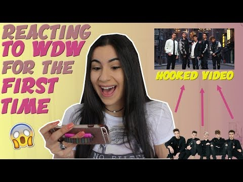 WHO IS WHY DON'T WE?! REACTING TO WDW FOR THE FIRST TIME (HOOKED MV) | Just Sharon