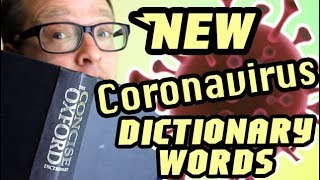 New Coronavirus Oxford English Dictionary Words 2020