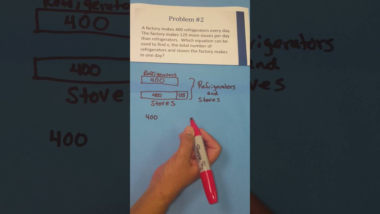 medium resolution of 4 5a using strip diagrams to formulate an equation