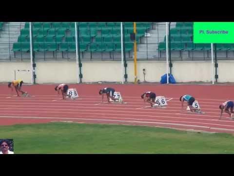 Women's 200M Final. National Inter State Senior Athletics Championships-2013. Chennai