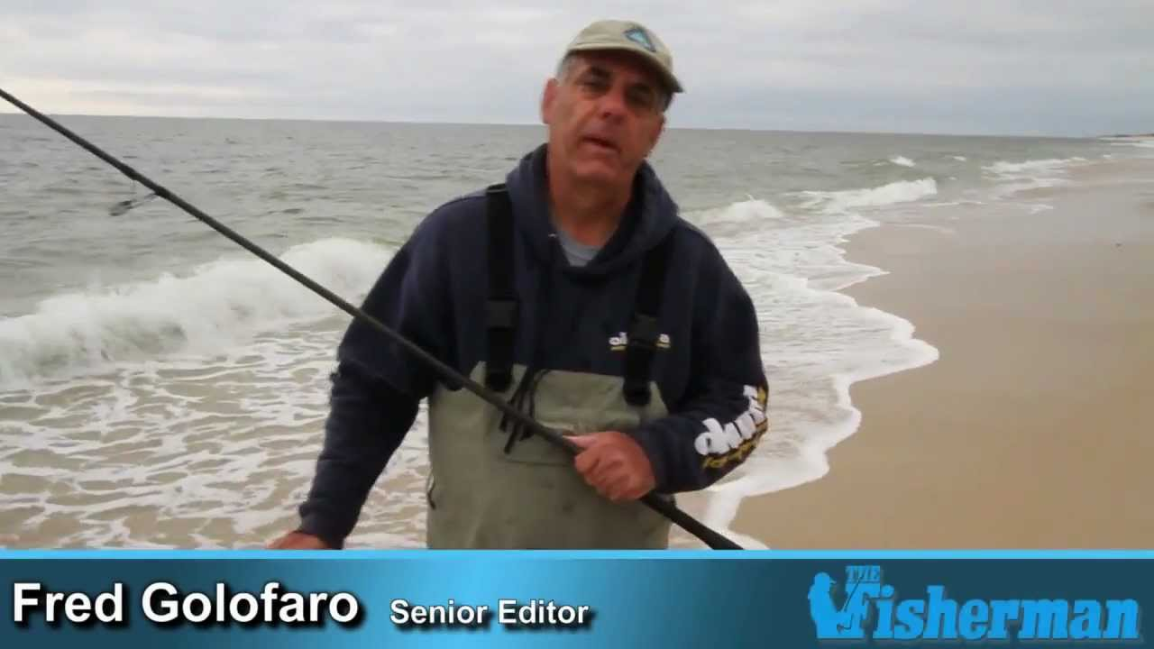Surfcasting Tips - Working A Sandy Beach