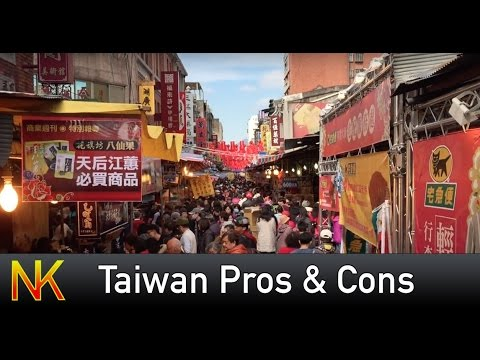 The Pros & Cons of Living in Taiwan