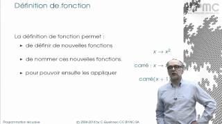 1/3 Grammaire, fonctions primitives - MOOC Programmation récursive