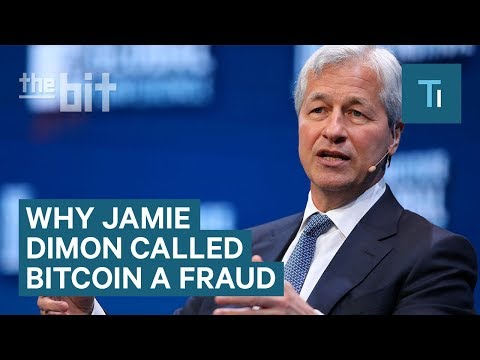 One Of The Best Responses To Jamie Dimon Calling Bitcoin A Fraud