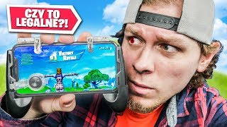 LEGAL CHEAT FOR FORTNITE ON THE PHONE?! 😲