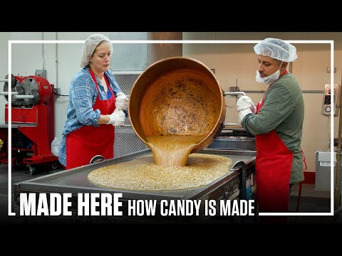 MADE HERE UNCUT: Inside The Largest Candy Factory | Popular Mechanics
