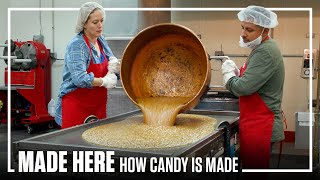 Inside The Largest Handmade Candy Factory | MADE HERE | Popular Mechanics