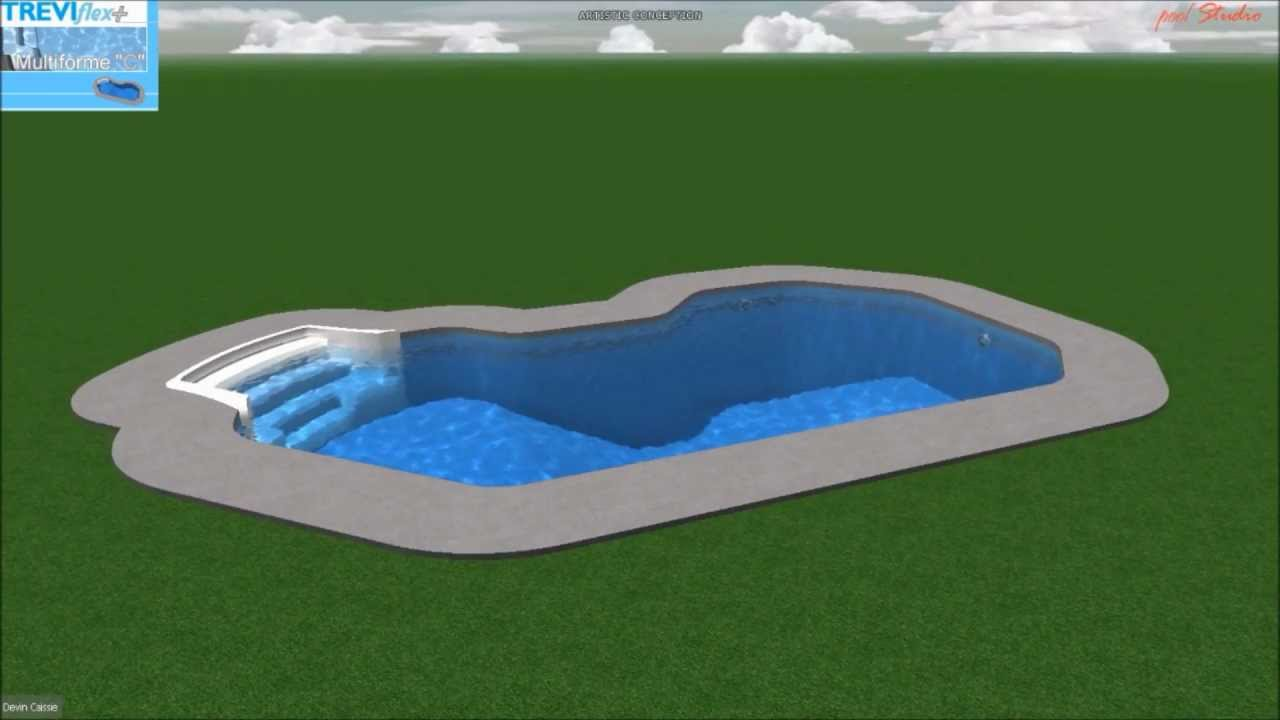 Piscine tr vi flex multiforme c youtube for Piscine trevi