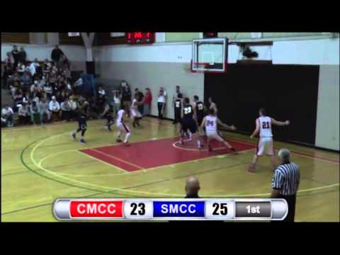 Central Maine Community College Men's Basketball Highlights