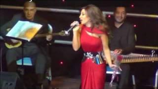 Najwa Karam - Ya Bayeh - La Cigale Hotel Doha 2012 Concert