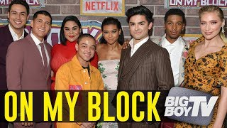 The Cast of On My Block on The Success of The Show & Who Has The Party House!