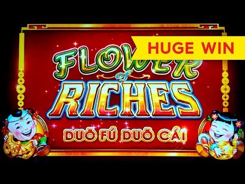 BETTER THAN JACKPOT! Flower of Riches Slot! - 동영상
