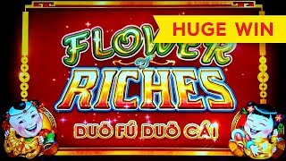 BETTER THAN JACKPOT! Flower of Riches Slot!