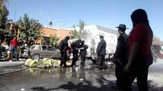 desfile y sustooo en Francisco I Madero,Coahuila