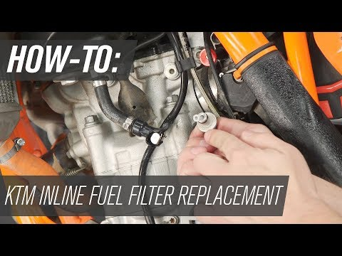 [SCHEMATICS_4UK]  How To Replace the Inline Fuel Filter on a KTM Dirt Bike - YouTube | Waterproof Fuel Filter |  | YouTube