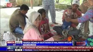 Warga Panteraja Bertahan Di Masjid, Takut Gempa Susulan