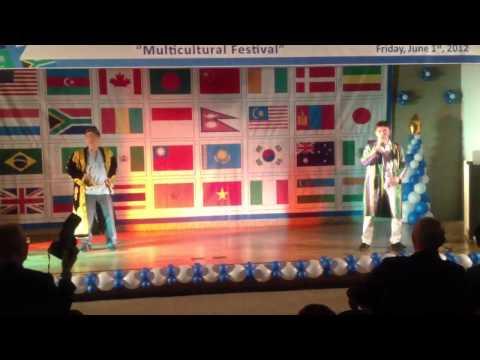 Uzbek Nation Shuffling (Andijon Polka) at Solbridge Cultural Day