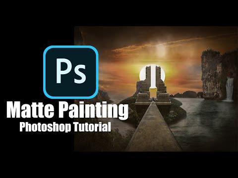 Photoshop Tutorial :  Matte Painting Manipulation