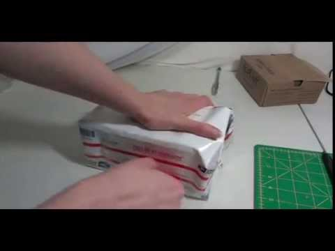 The Folding A Priority Envelope Into A Box Trick.