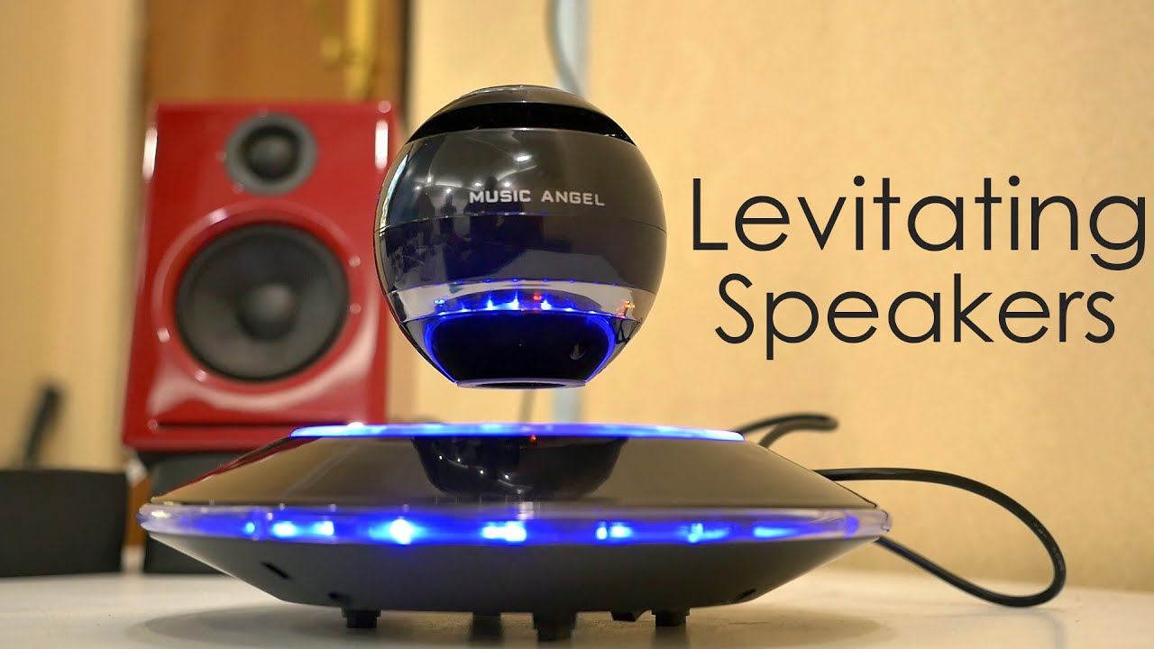Floating Speakers are COOL ! - YouTube