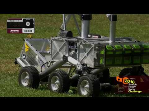WVU Mountaineers take on NASA's Sample Return Robot Challenge and Win 2016