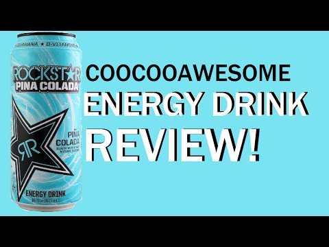 Energy Drink Review #134 - Rockstar Pina Colada