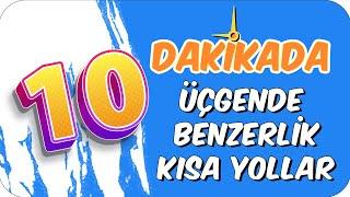 10dk'da UCGENDE BENZERLIK KISA YOLLAR