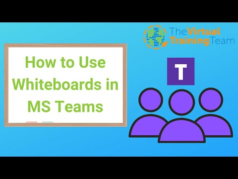 How To Use Whiteboards In Microsoft Teams