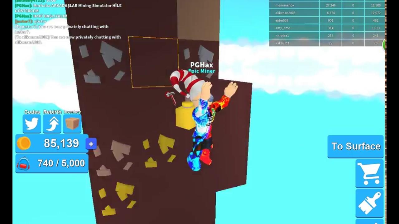 Roblox Mining Simulator Hacks To Rebirth
