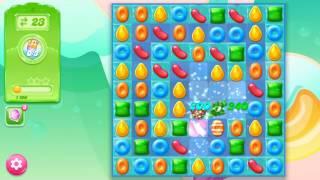 🍭🍬Candy crash jelly LV006 Прохождение, уровень 6, три в ряд, развивающая игра на андроид