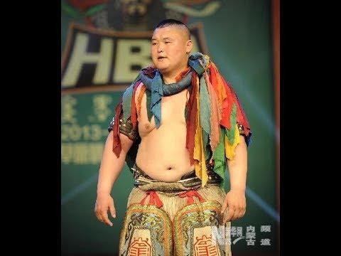 【Mongolian Wrestling】正藍旗 阿拉坦巴根 Best Moments 2014