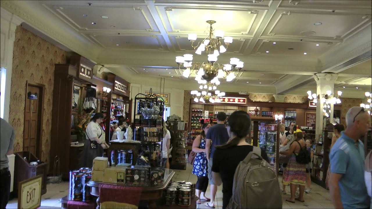 Emporium, Magic Kingdom, Walt Disney World in HD - YouTube