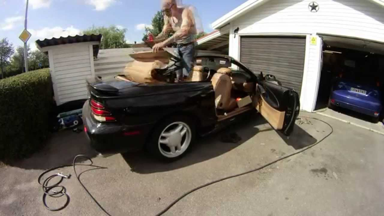 Replacing The Convertible Top On My 94 Mustang Gt
