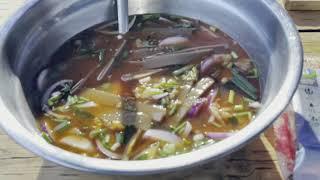 간단하게 시원한묵밥 만들기