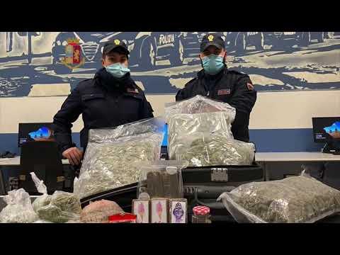 Milano: perquisizione e sequestro di droga