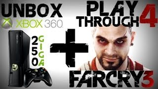 Unboxing XBOX 360 250gb+ FarCry3 #4