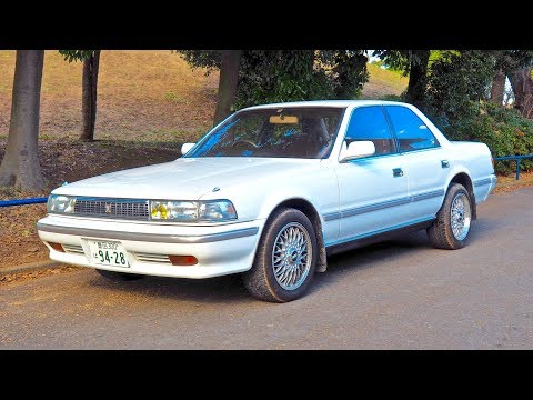 1990 Toyota Cresta 2.5GT Turbo JZX81 1JZ-GTE (USA Import) Japan Auction Purchase Review